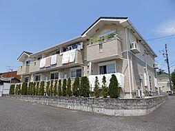 三重県亀山市布気町の賃貸アパートの外観