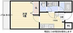 千里丘駅 徒歩5分3階Fの間取り画像