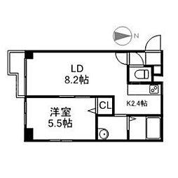 BLOCK TOWER[5階]の間取り