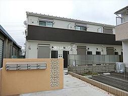 埼玉県上尾市上町2丁目の賃貸アパートの外観