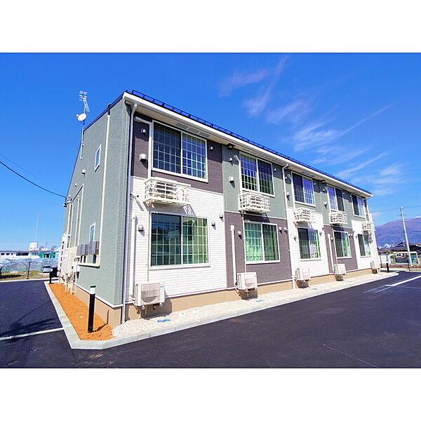 長野県松本市大字島立の賃貸アパート