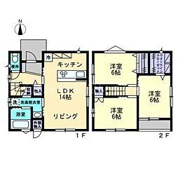 [一戸建] 香川県高松市多肥下町 の賃貸【/】の間取り