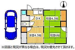 [一戸建] 埼玉県行田市富士見町2丁目 の賃貸【/】の間取り