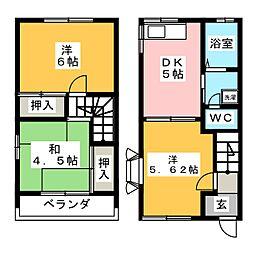 メゾンモリ[1階]の間取り