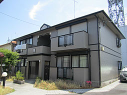 グリーンレイク堅田B[1階]の外観