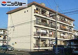 六軒屋農住コーポ松栄[2階]の外観