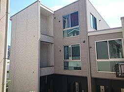 東京都中野区東中野5丁目の賃貸アパートの外観