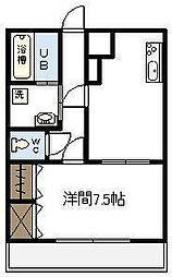 レジデンス学園A[306号室]の間取り