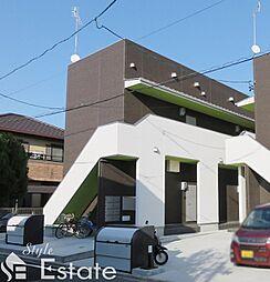 愛知県名古屋市南区大同町4丁目の賃貸アパートの外観