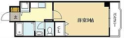 近鉄京都線 向島駅 徒歩11分の賃貸マンション 1階1Kの間取り