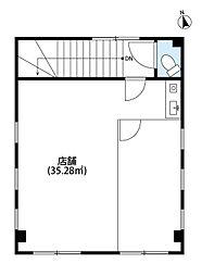 西武新宿線 新所沢駅 徒歩8分の賃貸店舗(建物一部)