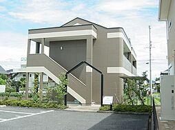 滋賀県野洲市吉地3丁目の賃貸アパートの外観