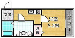 casa御殿山[2階]の間取り