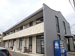 東京都青梅市長淵8丁目の賃貸アパートの外観