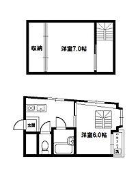エクトII[6階]の間取り