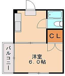 キャロット3[5階]の間取り