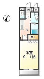 ミニョン[1階]の間取り