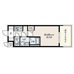 名古屋市営名城線 上前津駅 徒歩3分の賃貸マンション 15階1Kの間取り