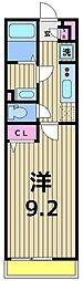 東京都足立区東保木間1丁目の賃貸マンションの間取り