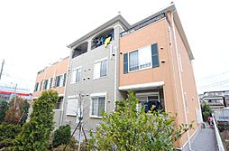 埼玉県川口市安行吉蔵の賃貸アパートの外観