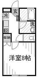 メゾンゴトウ[1階]の間取り