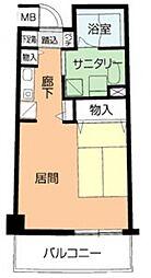 サンライフ尾崎[2階]の間取り