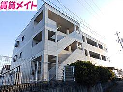 三重県松阪市駅部田町の賃貸マンションの外観