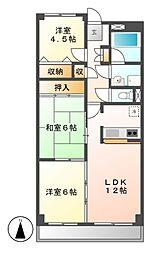 第5高杉マンション[4階]の間取り