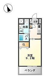 NOZt〜ノッズ〜[2階]の間取り