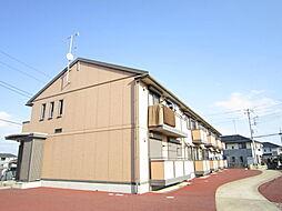茨城県ひたちなか市大字勝倉の賃貸アパートの外観