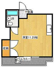 ドリームマンション[134号室]の間取り