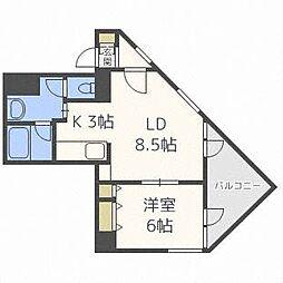 さんぱちBLDI[4階]の間取り