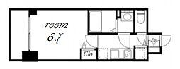 プレサンス金山デュアル[6階]の間取り
