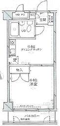 パレ・ドール田端[3階]の間取り