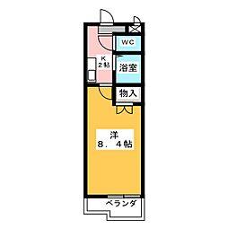 パークサイド高蔵寺[2階]の間取り