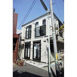 東京都板橋区常盤台4丁目の賃貸アパートの外観