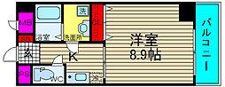 幸田マンション幸町[404号室]の間取り
