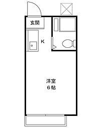 ミトモハイツ[2階]の間取り