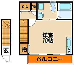倉敷[1階]の間取り