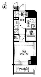 プレール・ドゥーク笹塚II[6階]の間取り