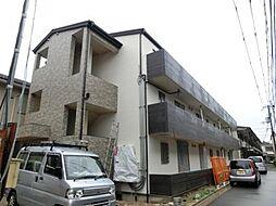 大阪府高槻市京口町の賃貸アパートの外観