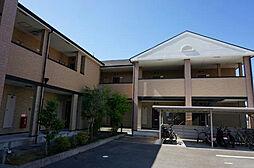 大阪府高槻市東五百住町1丁目の賃貸アパートの外観