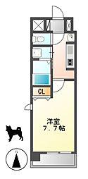 クレジデンス黒川[10階]の間取り