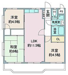 渋谷マンション[3階]の間取り