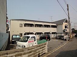 京都府京都市伏見区桃山水野左近西町の賃貸アパートの外観