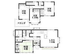 [一戸建] 埼玉県鴻巣市神明3丁目 の賃貸【/】の間取り