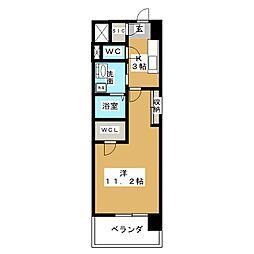グランドソレイユ名駅[7階]の間取り