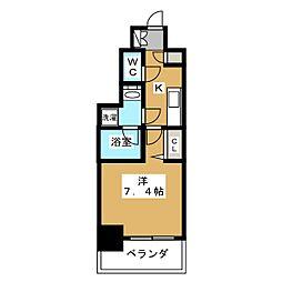 アスヴェル京都市役所前II[8階]の間取り