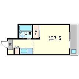 エリハイツ[3階]の間取り