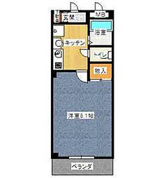 KDY-I[4階]の間取り